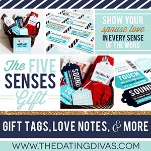 5 Senses gift tags, love notes and more
