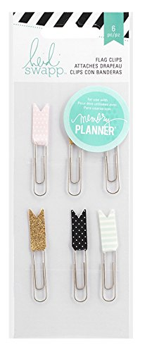 Heidi Swapp Hello Beautiful Flag Clips