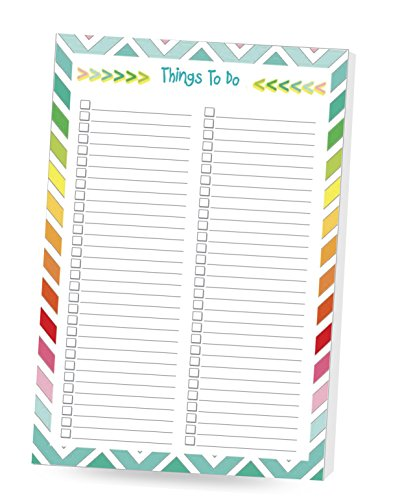 DOUBLE PACK Things To Do Notepad 6