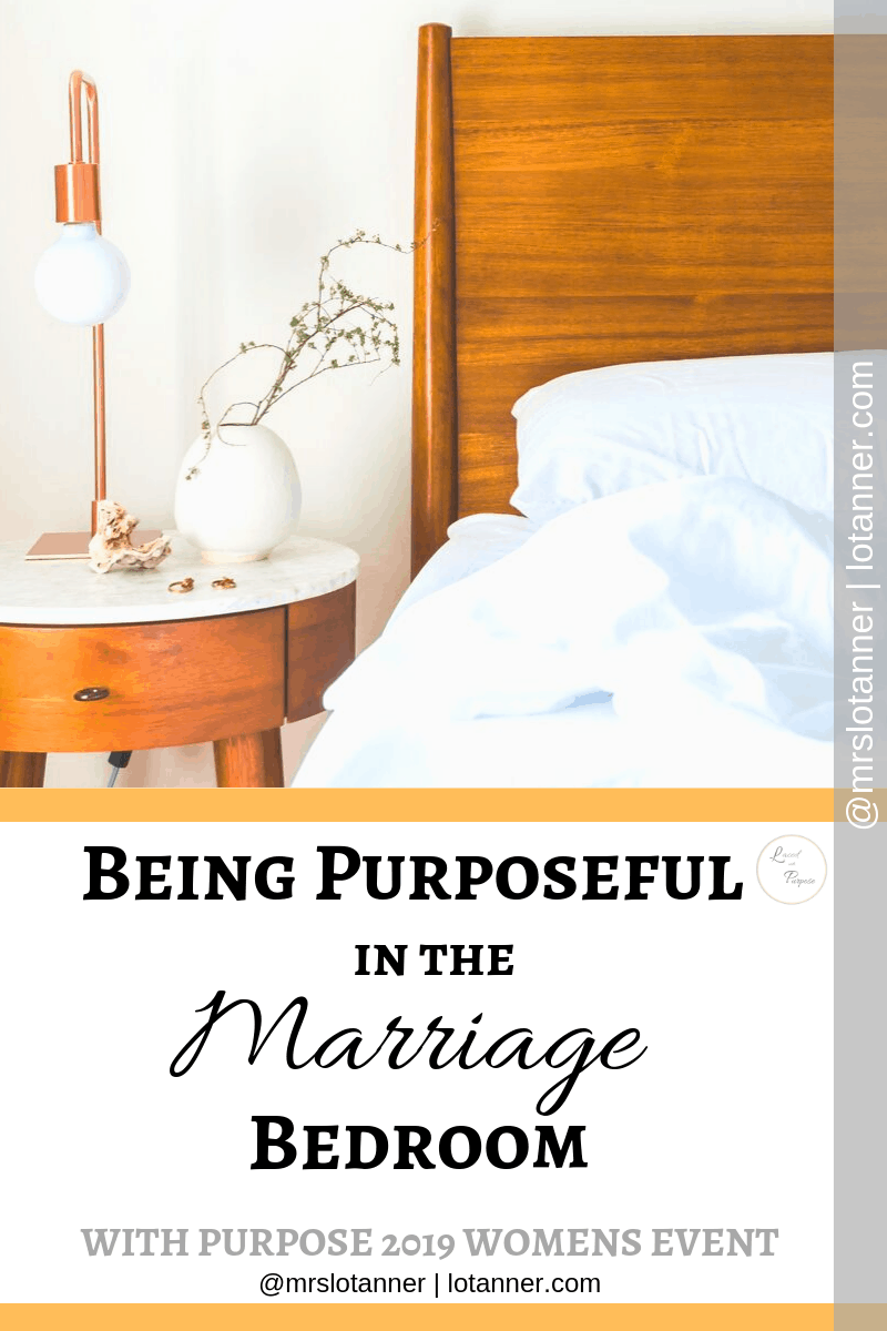 Making space for marital intimacy (in every form) by creating and protecting the marriage bedroom. A post by Tina Crawford http://www.lotanner.com/with-purpose-marriage-bedroom @mrslotanner #lacedwithpurpose