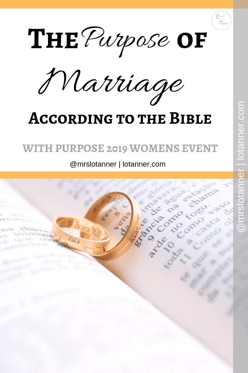 4 Ways you can observe and practice the biblical purpose of marriage in your everyday life. A post by Tiffany of Hope & Joy In Christ. http://www.lotanner.com/with-purpose-biblical-purpose-of-marriage @mrslotanner #lacedwithpurpose