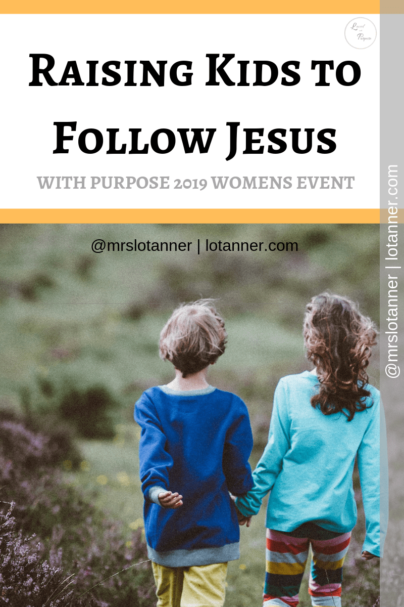 Practical ways to become more intentional about teaching your children to follow Jesus. A post by Jessie Mattis. http://www.lotanner.com/with-purpose-raising-kids-who-follow-jesus @mrslotanner