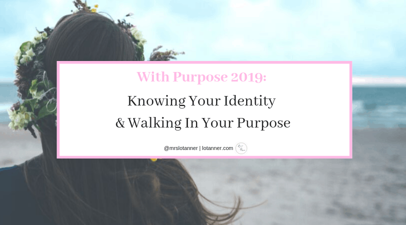 For the Christian struggling to understand who they are and what they are called to. Tips for knowing your identity and walking in your purpose. http://www.with-purpose-knowing-your-identity @mrslotanner #lacedwithpurpose