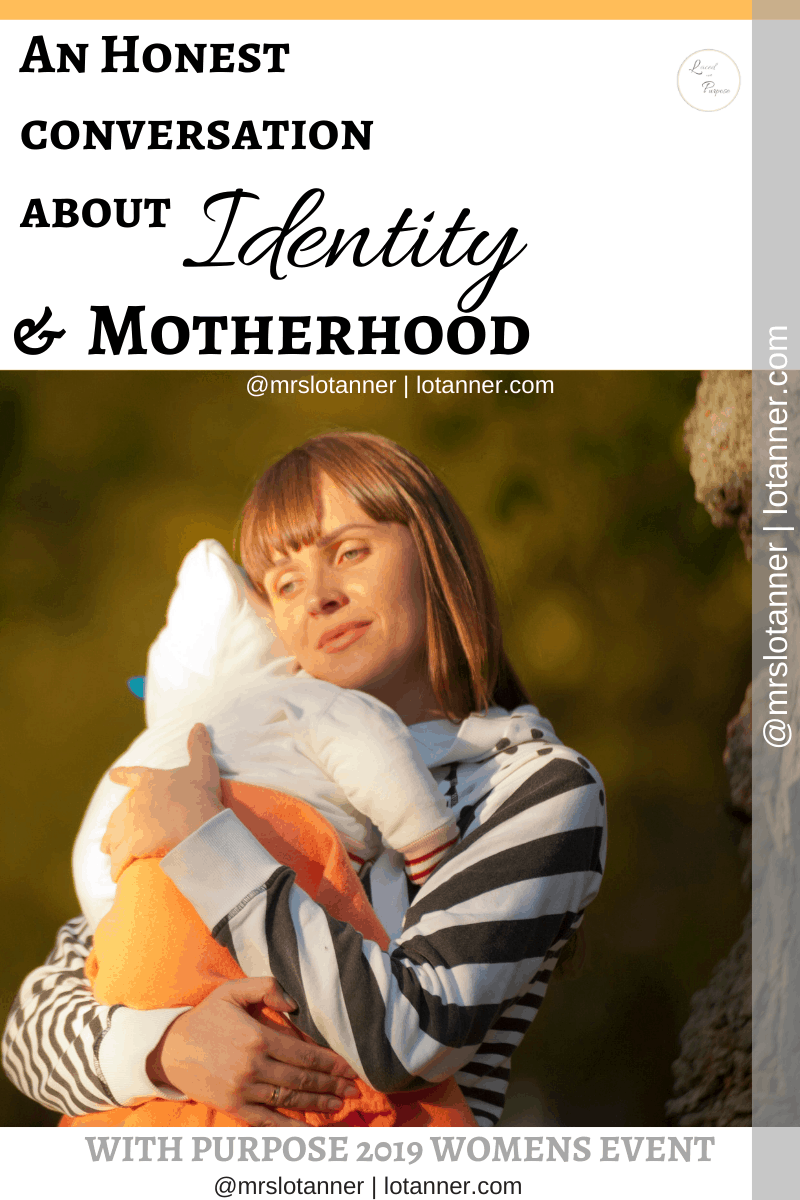 How examining Christ's life can help us gain an understanding of our identity role of mom in the various seasons of motherhood. http://www.lotanner.com/with-purpose-motherhood-identity @mrslotanner #lacedwithpurpose