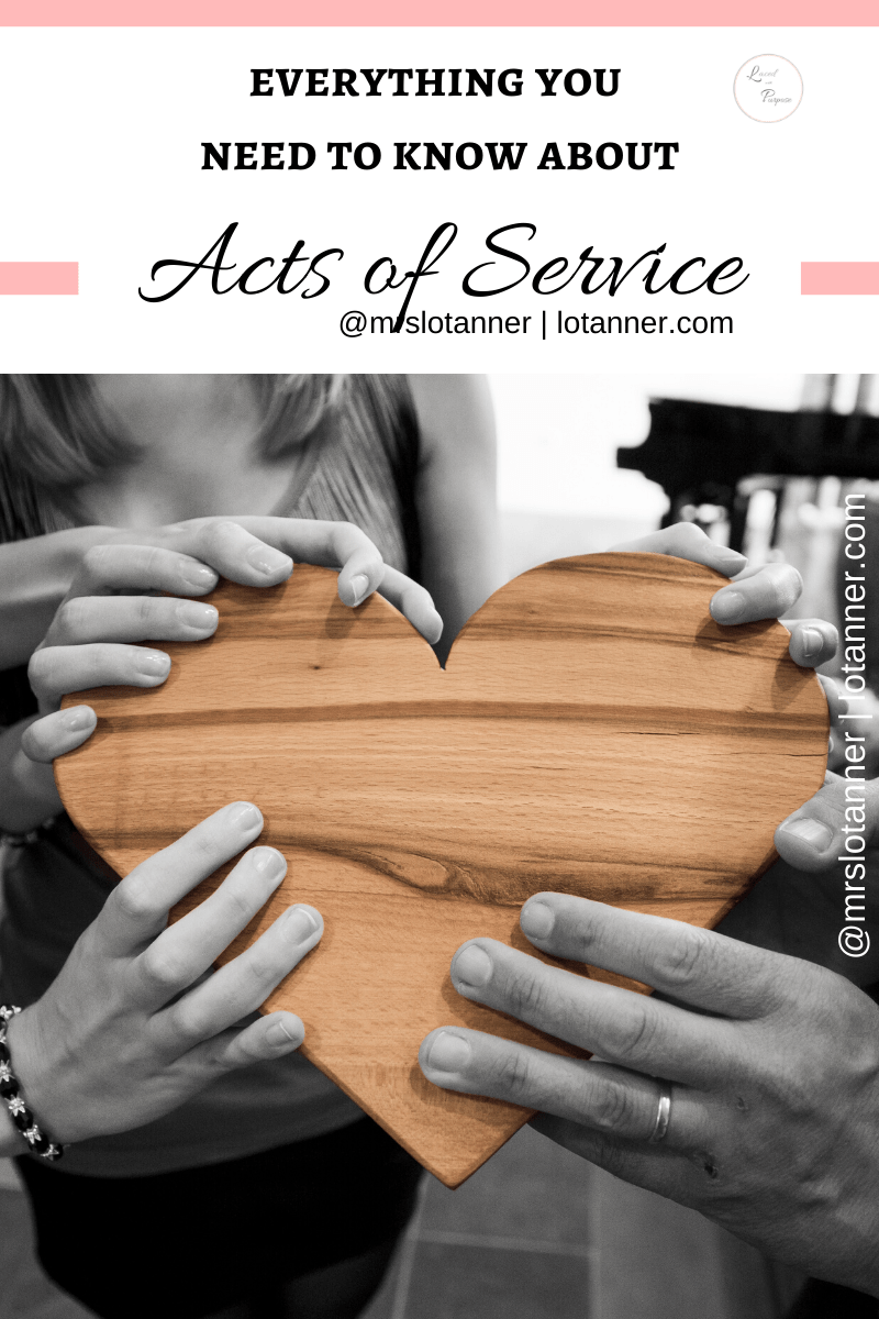 Kind and simple ways to show your acts of service husband you love him. http://www.lotanner.com/acts-of-service-love-languages @mrslotanner #lacedwithpurpose