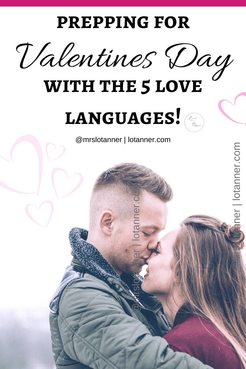 200 Ways to Use the 5 Love Languages in your Valentines Day Celebration. http://www.valentines-day-love-languages @mrslotanner #lacedwithpurpose