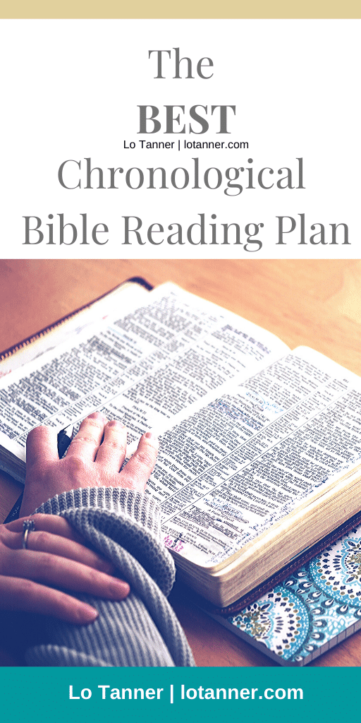 A chronological BIble reading plan to help you capture big picture truths and follow the story line of the Bible. http://www.lotanner.com/chronological-bible @mrslotanner #lacedwithpurpose