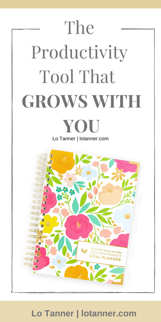A productivity tool that will grow with you and your dreams. #powersheets http://www.lotanner.com/with-purpose-productivity-tool @mrslotanner #lacedwithpurpose