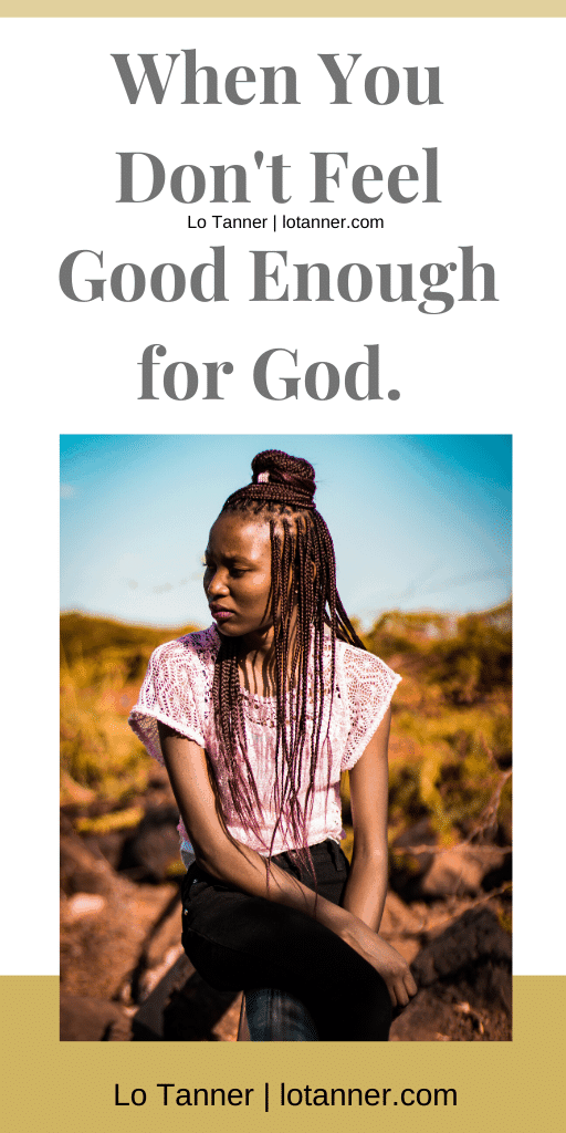 Does God care about my mess? Will I ever be good enough for God? Have you asked yourself those questions? Gotten lost in those thoughts? Yup, so have I. These are the thoughts that give me peace in the midst of all the questions. http://www.lotanner.com/good-enough @mrslotanner
